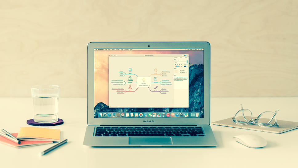 Hatékonyabb tervezés: gondolattérkép készítés OS X-en