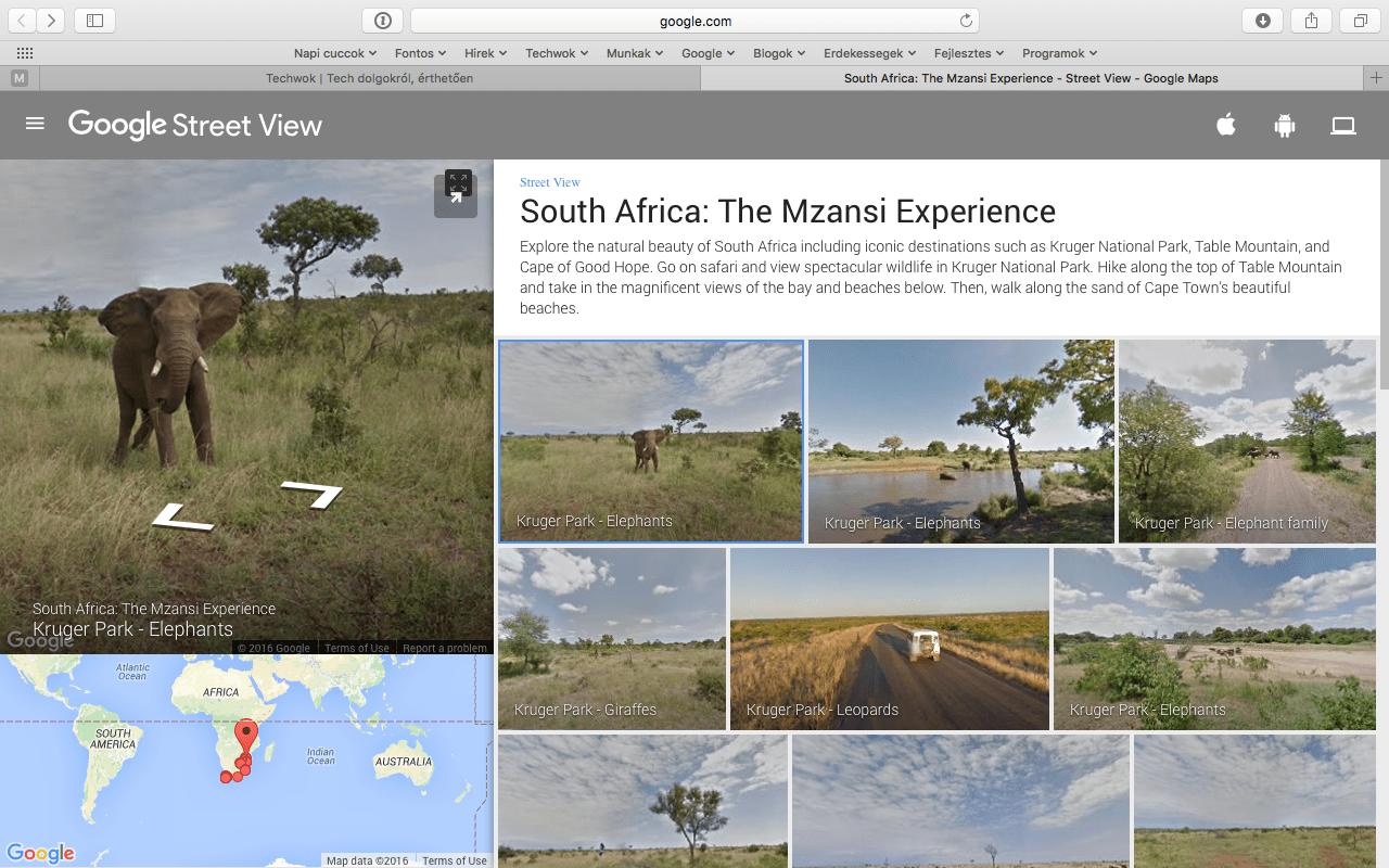 Járja be ingyen Dél-Afrika tájait, virtuálisan | Techwok.hu