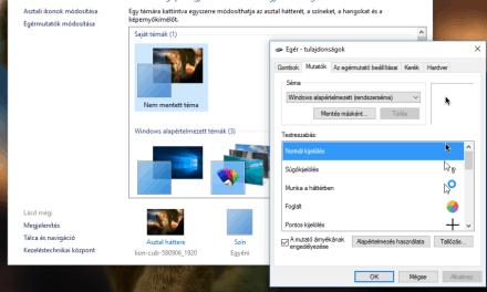 OS X stílusú egérkurzorok letöltése Windowshoz