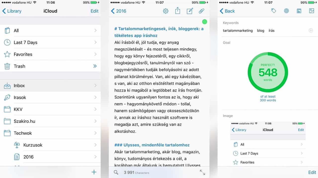 Írók, bloggerek, marketingesek: íráshoz a perfekt app | Techwok.hu