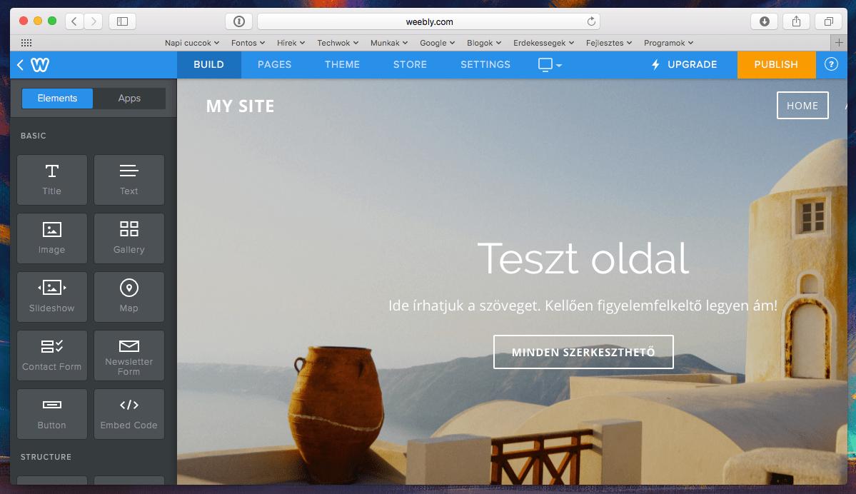 Látványos weboldal készítése ingyen, akár a mobilunkon is! | Techwok.hu