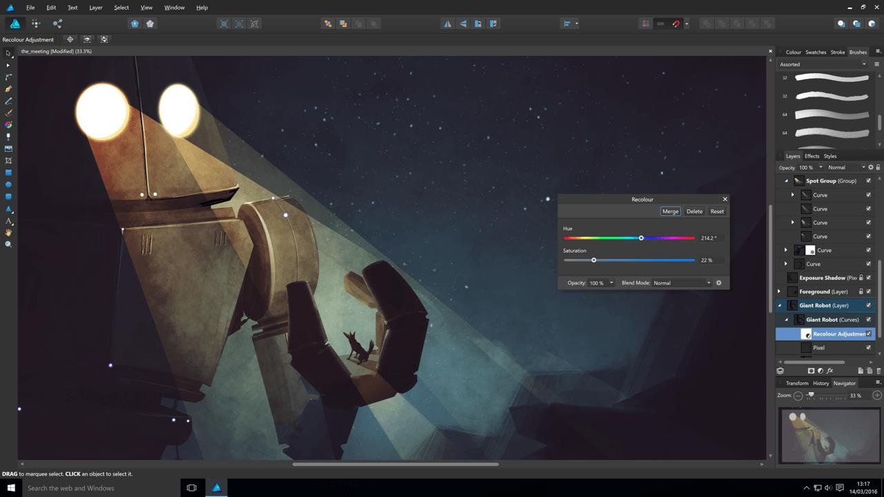 Olcsó Photoshop Windowsra: Affinity Windows béta letöltés!   Techwok.hu