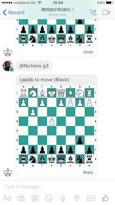 Facebook Messenger: rejtett kosárlabda és sakk játékok | Techwok.hu