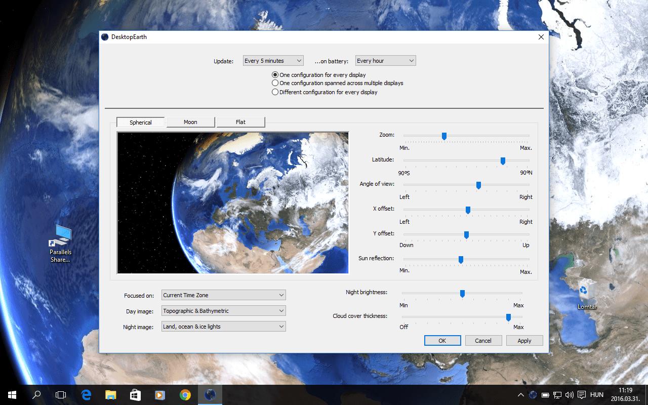Időjáráshoz igazodó háttérkép letöltése Windowsra, OS X-re | Techwok.hu