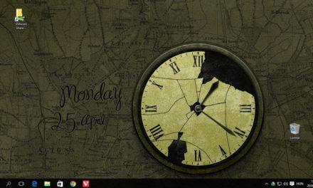 Működő órás háttérképek ingyen, Windowsra és OS X-re
