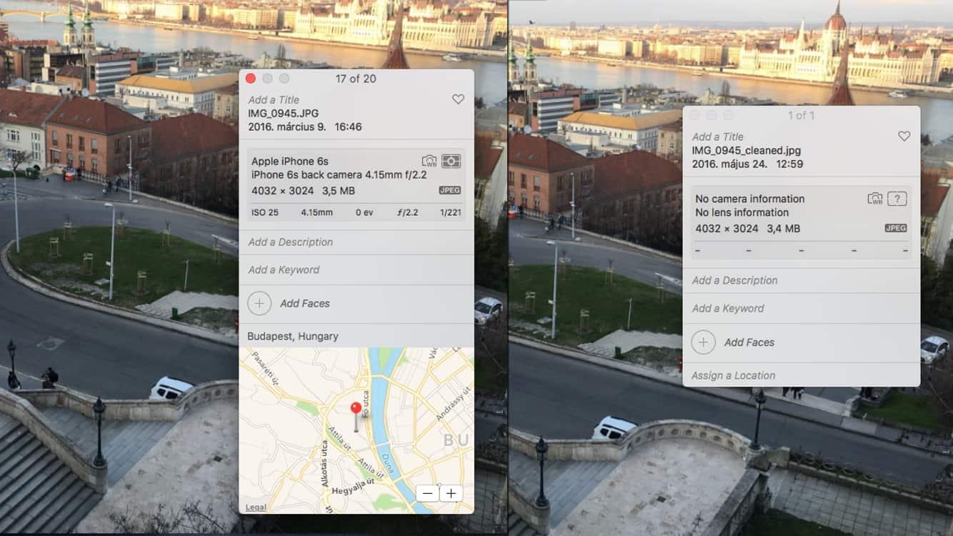 Ne leplezzük le magunkat: GPS és EXIF adatok törlése fotókból | Techwok.hu