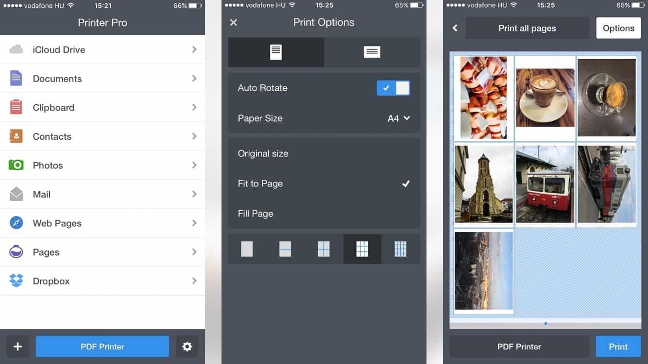 Nyomtatás és PDF-be konvertálás iPhone-on   Techwok.hu