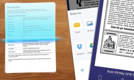 Dokumentum és számla szkennelés iPhone-nal, villámgyorsan