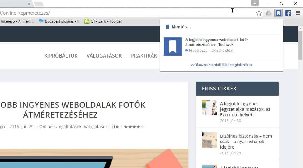 Facebook funkciók kihasználása Chrome-ban, most még egyszerűbben | Techwok.hu