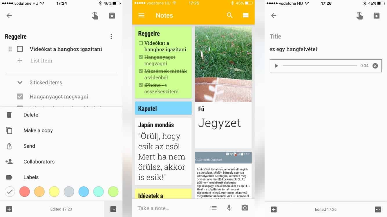 google-keep-ios