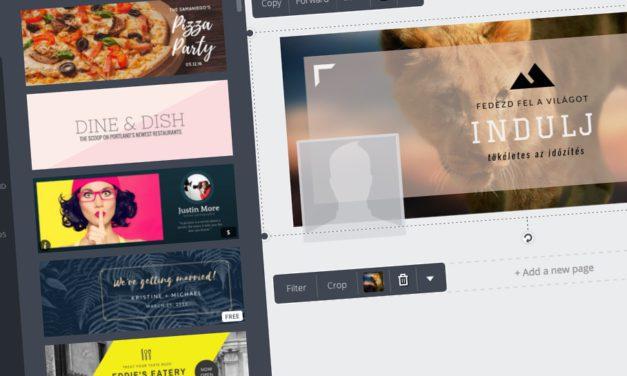 Látványos Facebook fejléc készítése, egyszerűen és ingyen