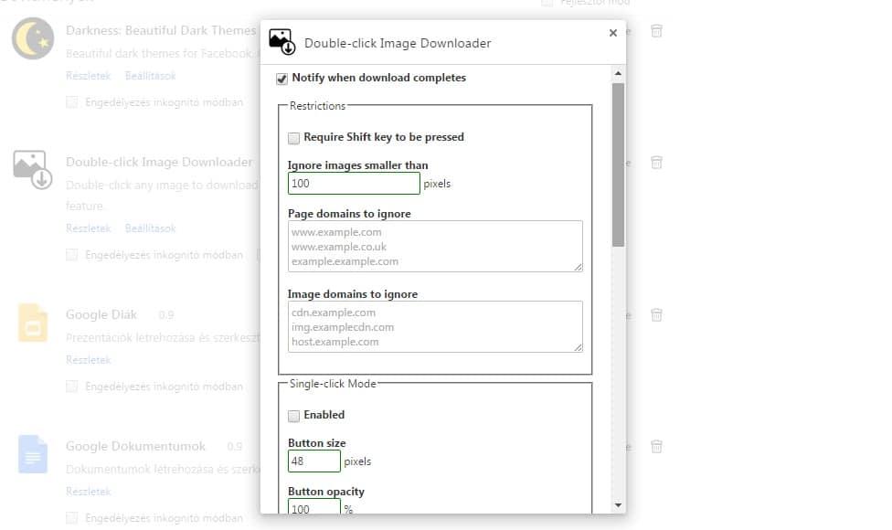 Villámgyors képletöltés Chrome-ban, dupla kattintással | Techwok.hu