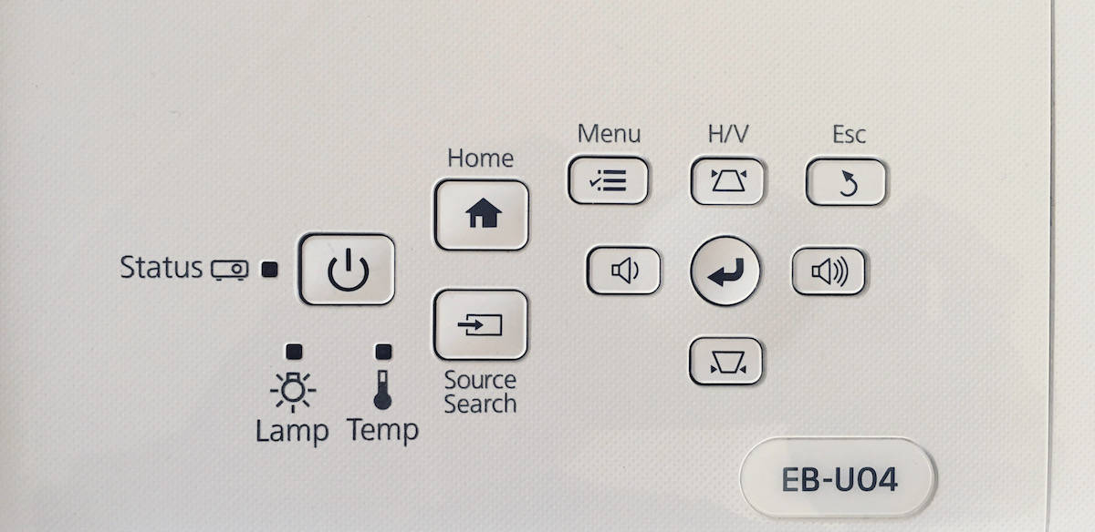 Epson EB-U04: mozi otthon vagy meggyőzés az irodában | Techwok.hu