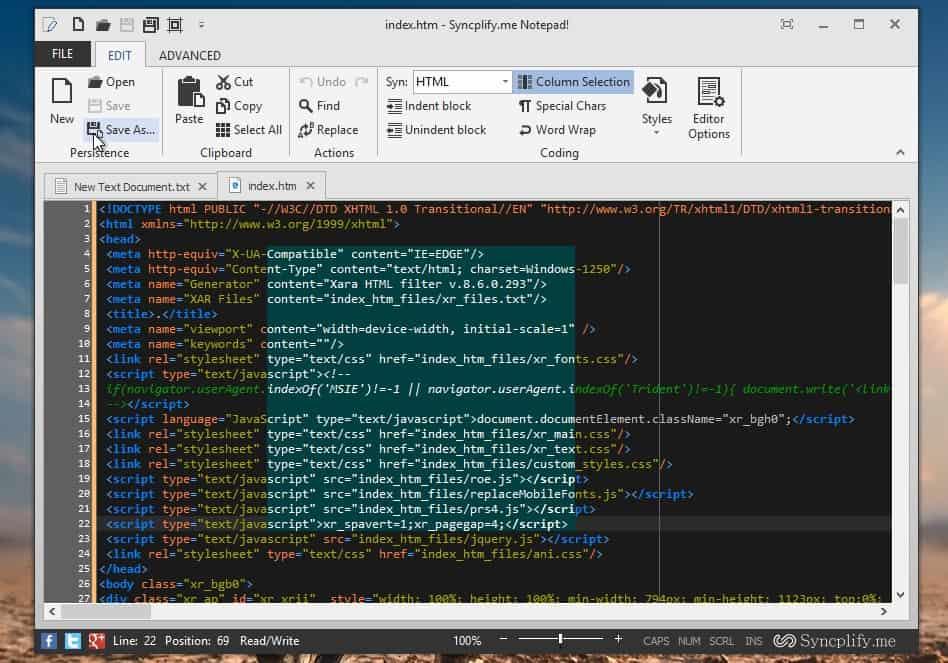 Gagyi a Windows Notepad? Íme egy zseniális alternatíva, ingyen! | Techwok.hu