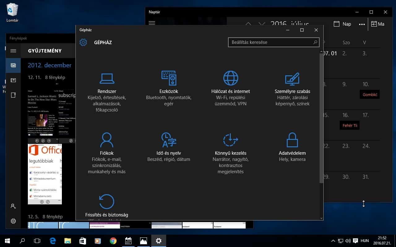 Így állítható be a rejtett fekete felület Windows 10 alatt | Techwok.hu