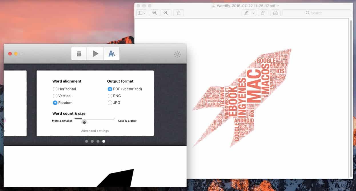 Látványos szófelhő készítése vektorosan, teljes kényelemben | Techwok.hu