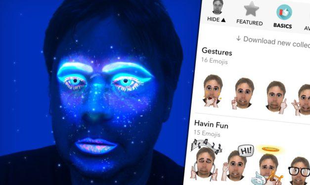 Két zseniális app ingyen, ha látványos emojit és avatart készítenénk fotóinkból