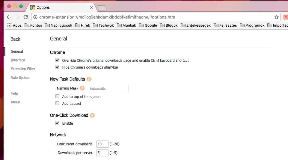 Kiváló és ingyenes letöltésmenedzser a Chrome-hoz | Techwok.hu
