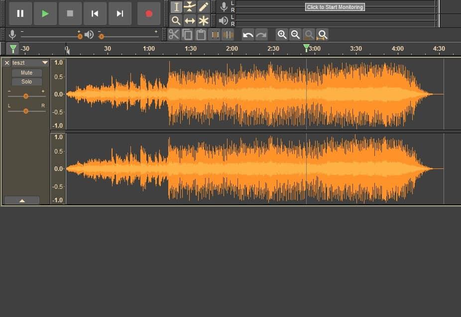 Fekete Audacity: ingyenes hangszerkesztő, új köntösben | Techwok.hu