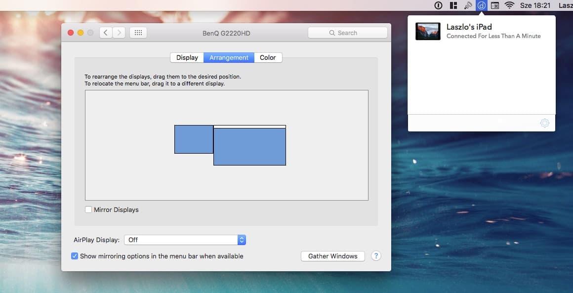 Így használható az iPad monitorként a számítógéphez | Techwok.hu