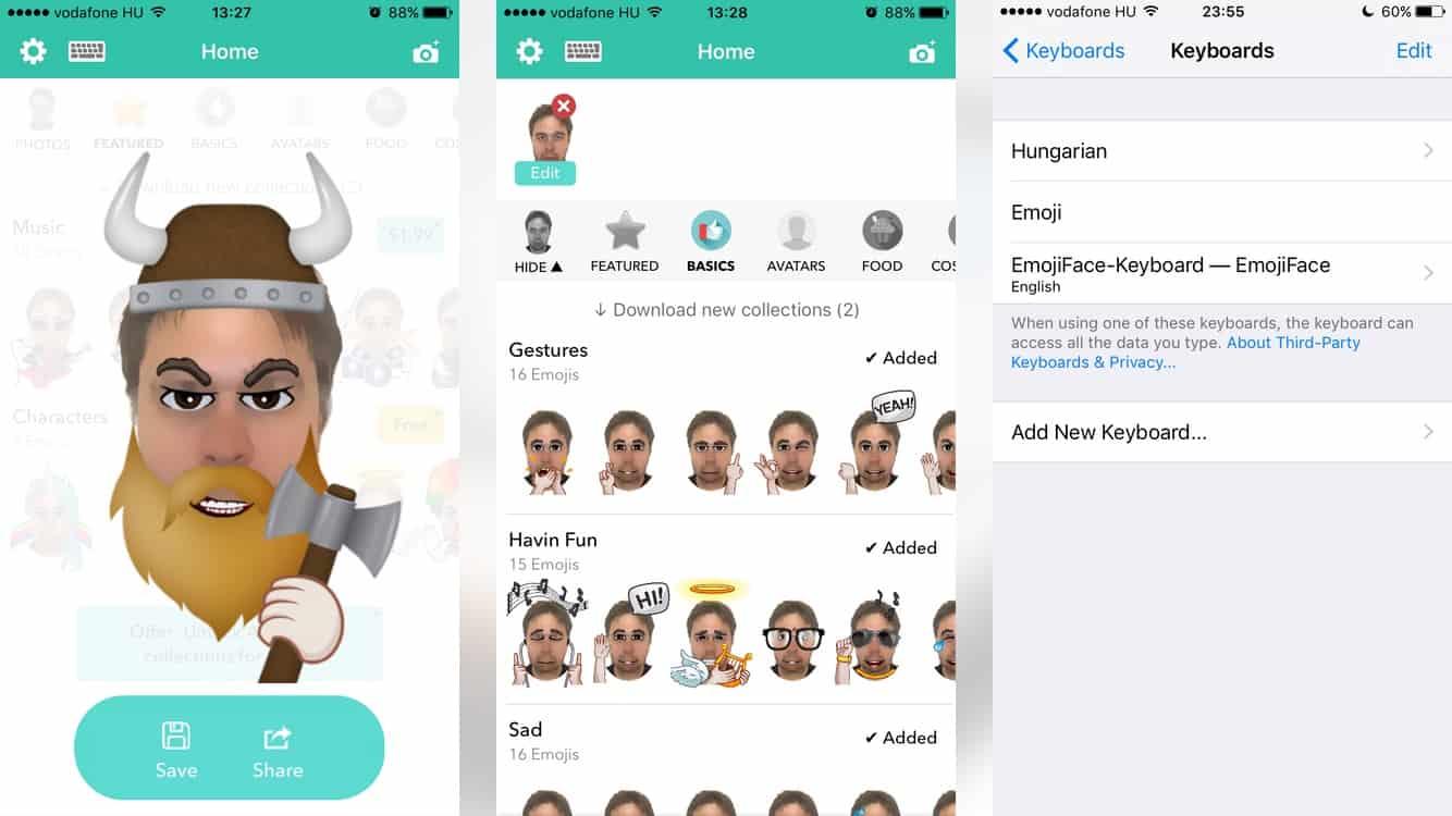 Két zseniális app ingyen, ha látványos emojit és avatart készítenénk fotóinkból | Techwok.hu