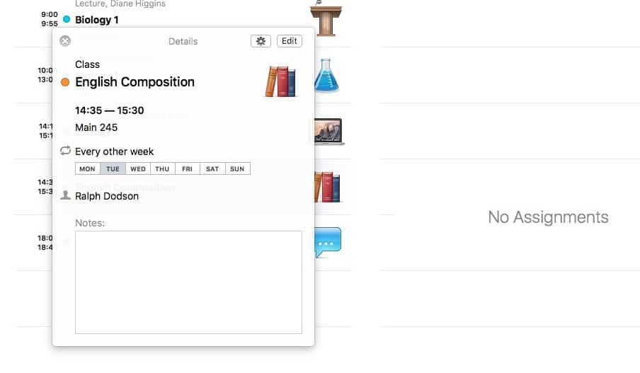 iStudiez Pro: ha hatékonyan menedzselnéd a tanulmányaidat | Techwok.hu