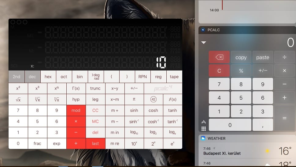 Kihagyhatatlan, alakítható számológép iPhone-ra és macOS-re
