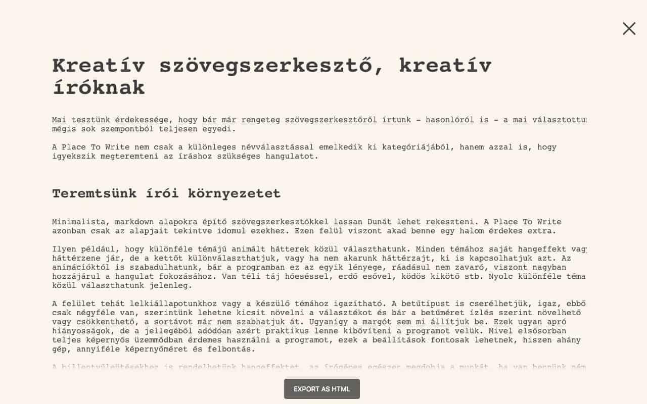 Kreatív, animált szövegszerkesztő, kreatív íróknak | Techwok.hu
