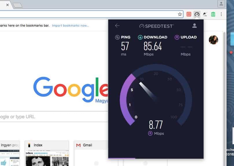 Mérje le a Chrome-ban, mire képes az internet kapcsolata | Techwok.hu