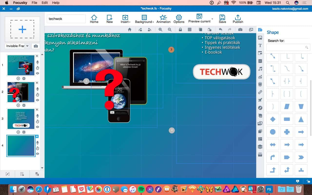 Így készíthetünk hatásos prezentációt vagy explainer videót   Techwok.hu
