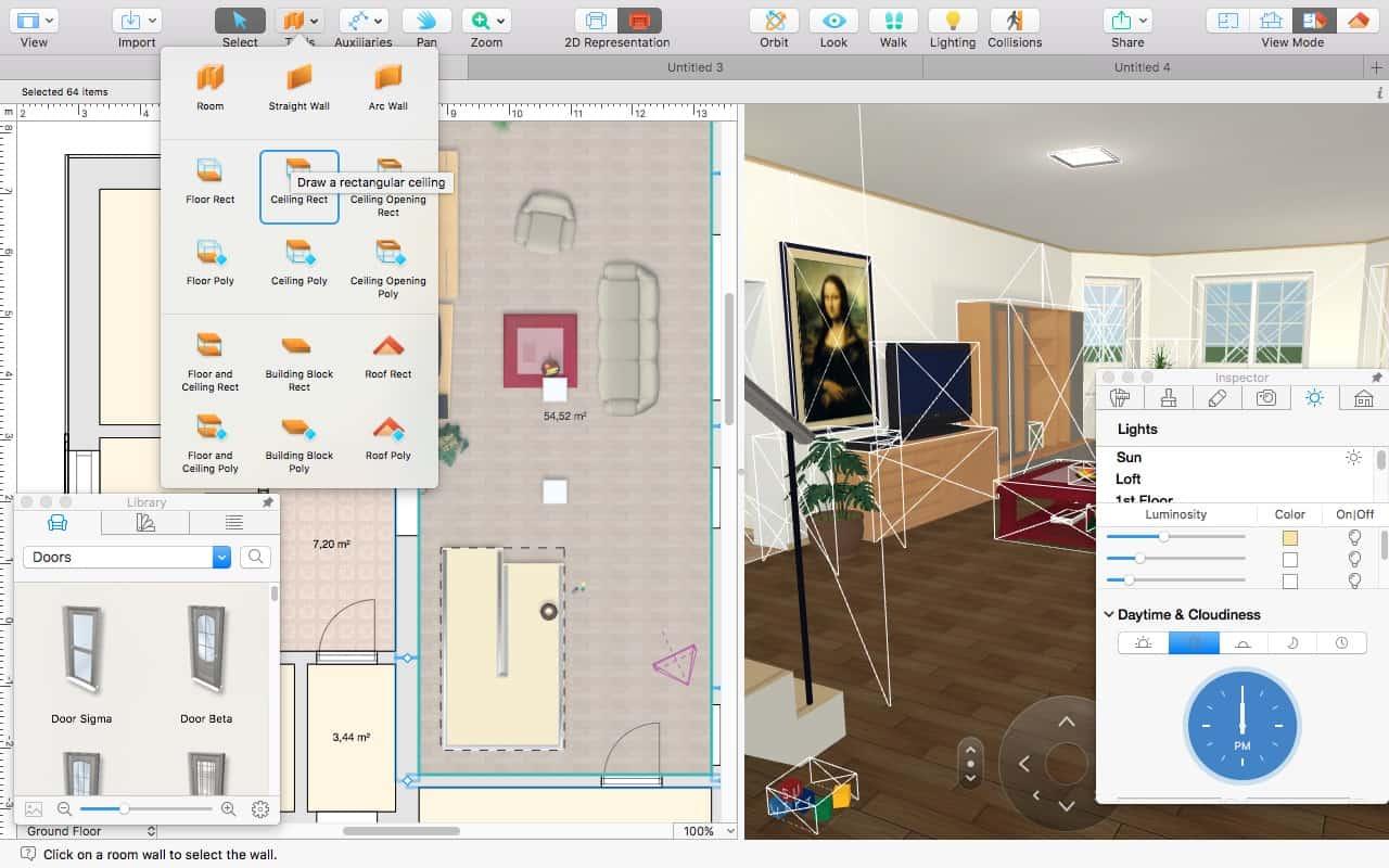 Látványos, mégis könnyen használható 3D lakástervező | Techwok.hu
