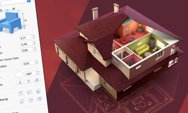 Látványos, mégis könnyen használható 3D lakástervező