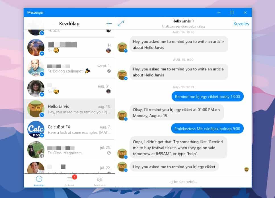 Kényelmes Messenger felületek Windowsra és MacOS-re, ingyen | Techwok.hu