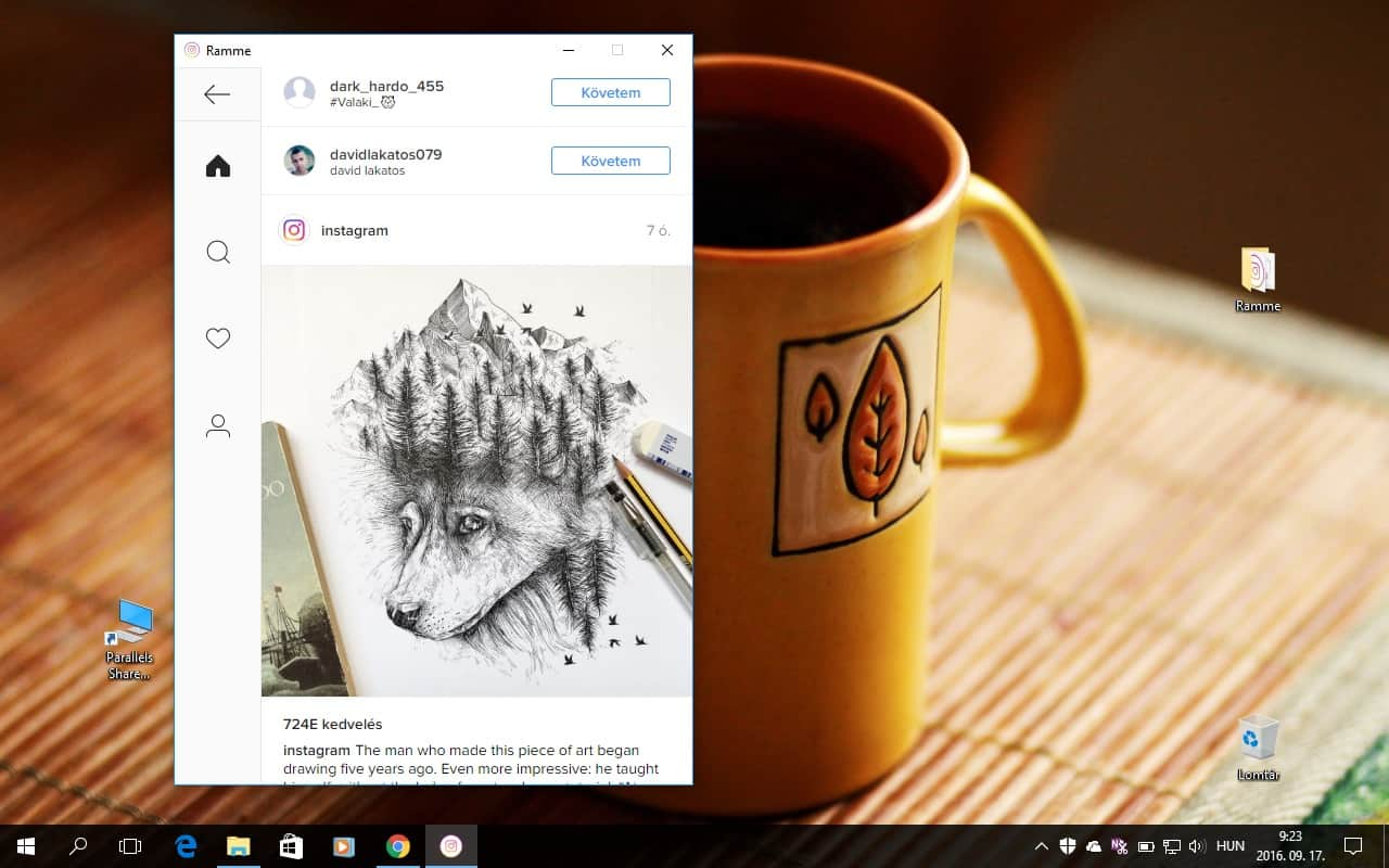 Ingyenes Instagram program Windowsra, Macre, Linuxra | Techwok.hu