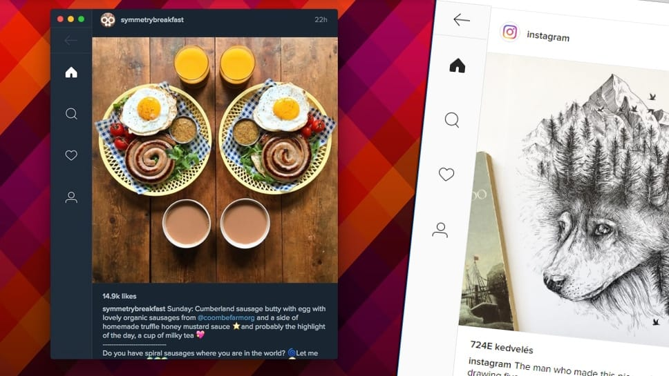 Ingyenes Instagram program Windowsra, Macre, Linuxra