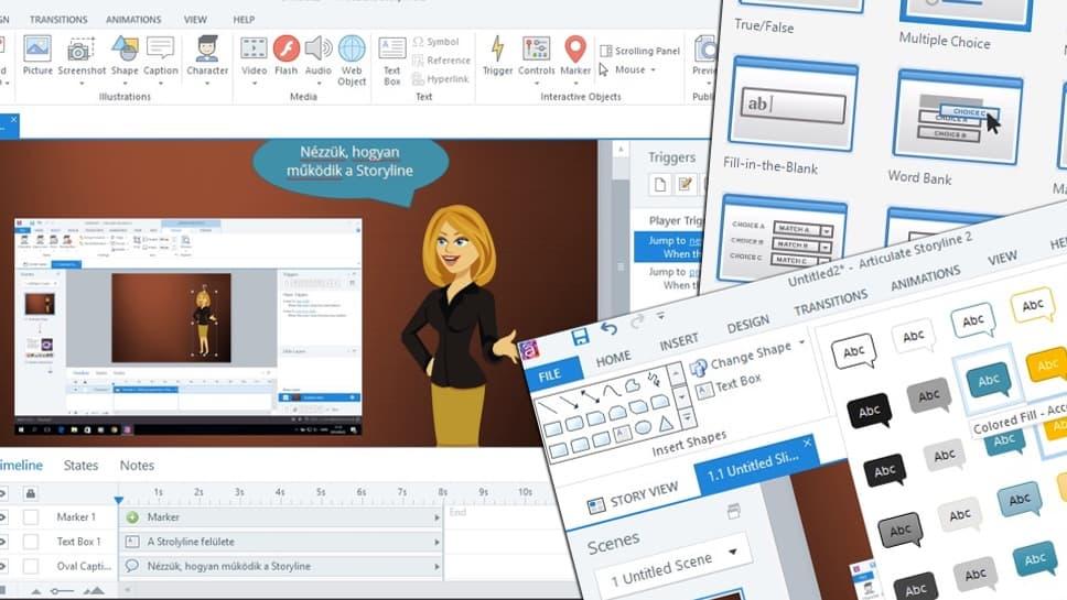 Oktatóanyagok készítése HTML5 formátumban, egyszerűen és gyorsan