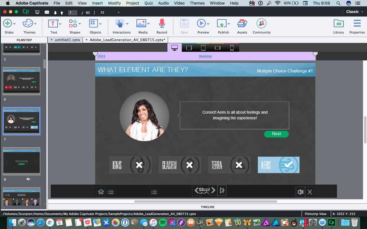 Adobe Captivate 9: az e-learning fejlesztés nagyágyúja | Techwok.hu