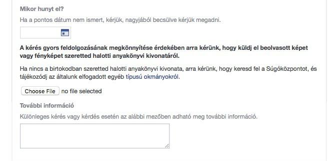 Facebook fiók törlése, átalakítása a halál után | Techwok.hu