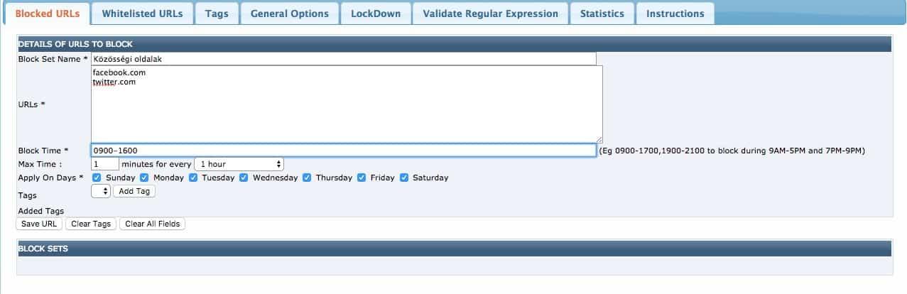 Önfegyelem: weboldalak időzített letiltása | Techwok.hu
