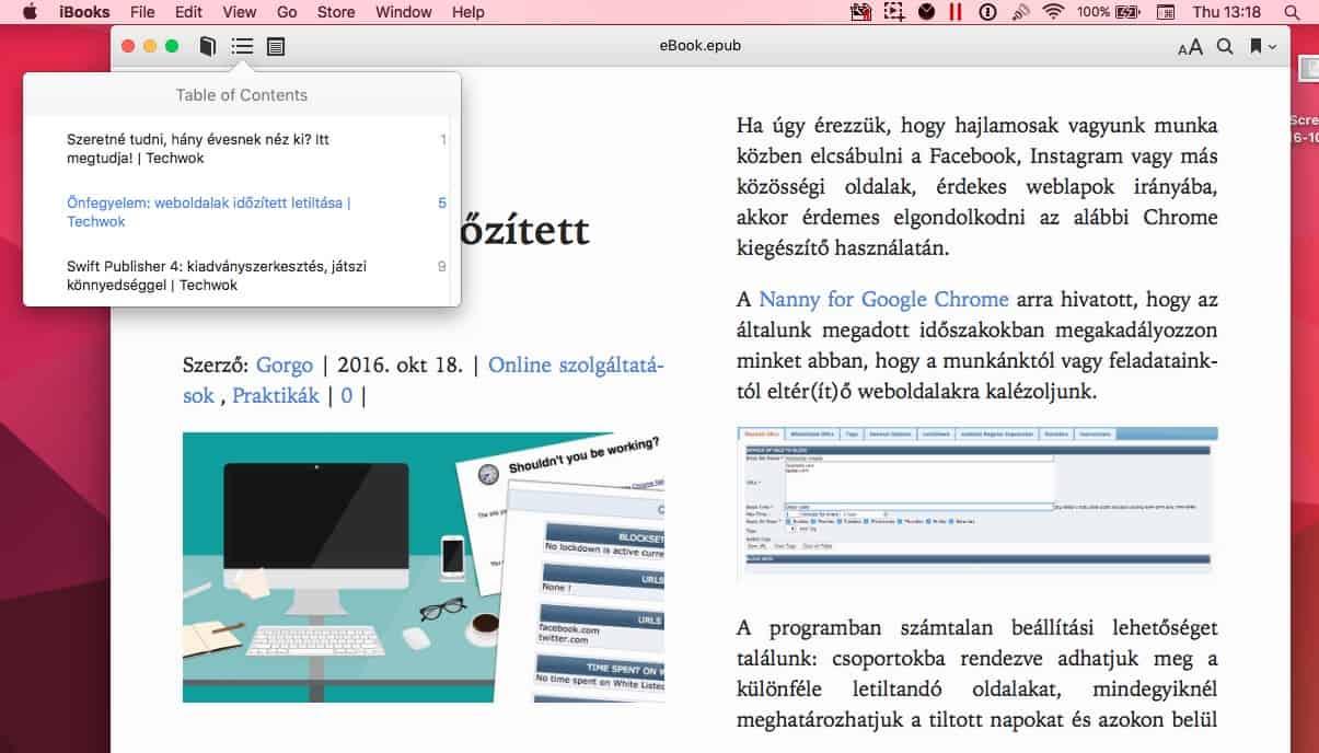Így menthetünk weboldalakat e-bookként a gépre | Techwok.hu