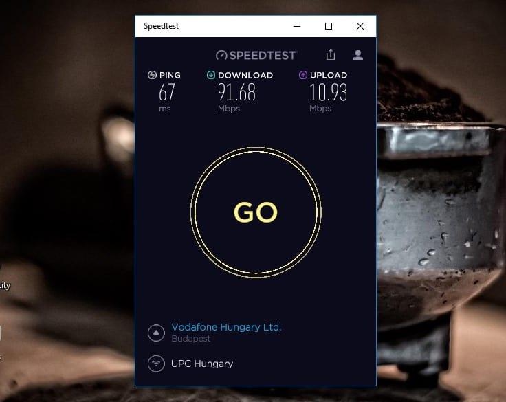 Így mérheti meg internet elérése sebességét Windows 10 alatt | Techwok.hu