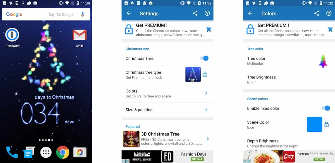 A legjobb karácsonyi visszaszámlálók iPhone-ra és Androidra   Techwok.hu