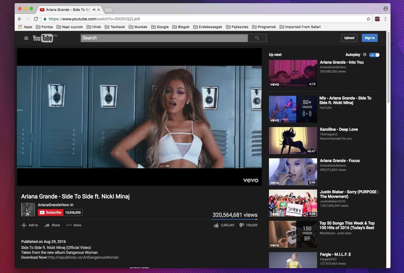 Látványos fekete felület a Youtube-hoz, ingyen | Techwok.hu