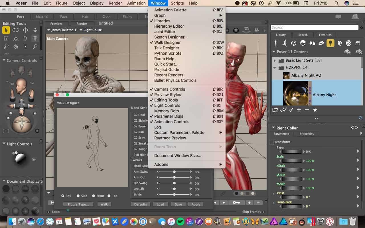 Poser Pro 11: karakter animáció kényelmesen | Techwok.hu