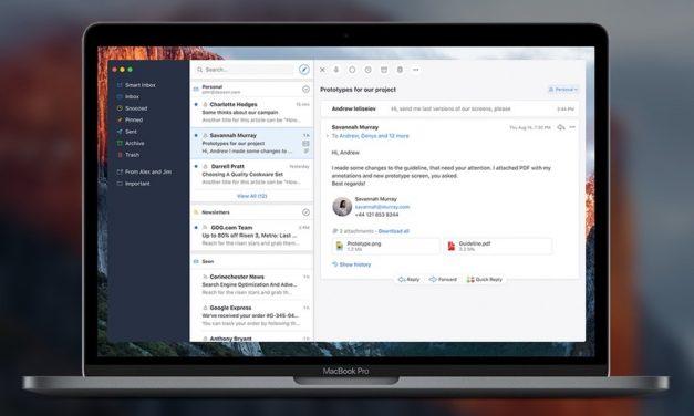 Végre landolt a Spark levelező macOS-re is!