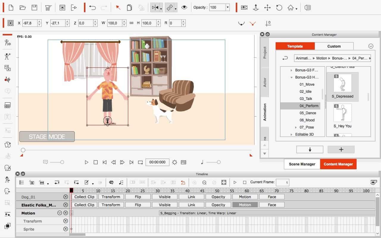 CrazyTalk Animator 3: rajzfilmektől az üzleti animációkig | Techwok.hu