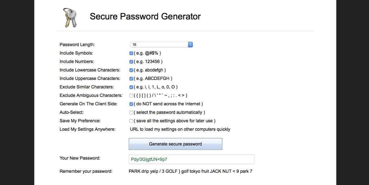 Így kreáljunk biztonságos jelszót és jegyezzük meg könnyen | Techwok.hu