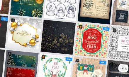 Karácsonyi képeslapok készítése házilag, ingyen