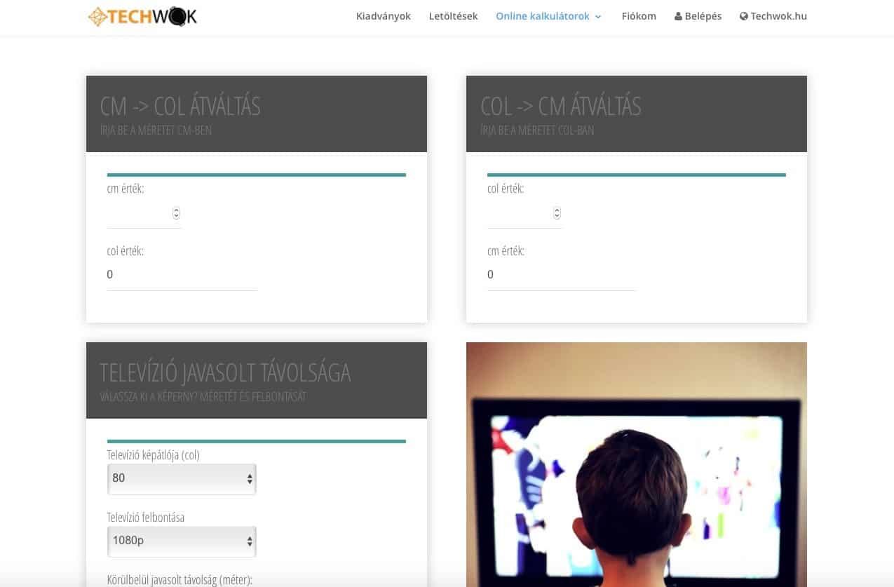 Mi a megfelelő tv nézési távolság? | Techwok.hu