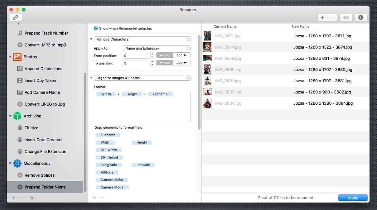 Fájlok csoportos átnevezése tuti módszerrel Macen | Techwok.hu